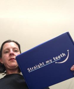 Lauwrien Geertse Van Bockel with StraightMyTeeth Impression Kit